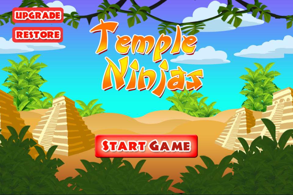 A Temple Ninja Race - Free Racing Game